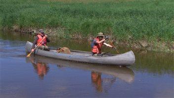 La rivière aux Rats invite à la rêverie au fil de l'eau