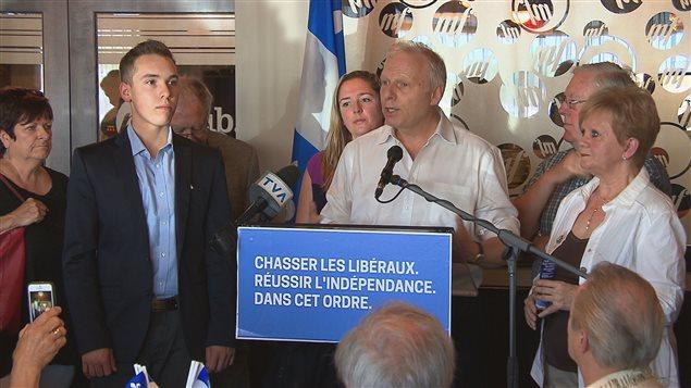 Le candidat à la direction du PQ Jean-François Lisée a reçu l'appui de neuf personnalités de la Mauricie