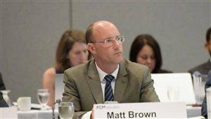 Le maire de London, Matt Brown