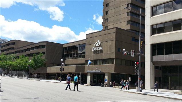 Hôtel sur le boulevard René-Lévesque à Québec