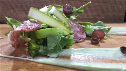 Salade d'asperges du Québec