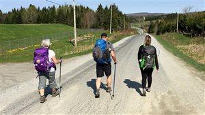 Marcher sur les chemins de Compostelle du Québec