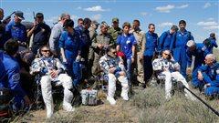 Retour sur Terre réussi de trois astronautes de la Station spatiale internationale