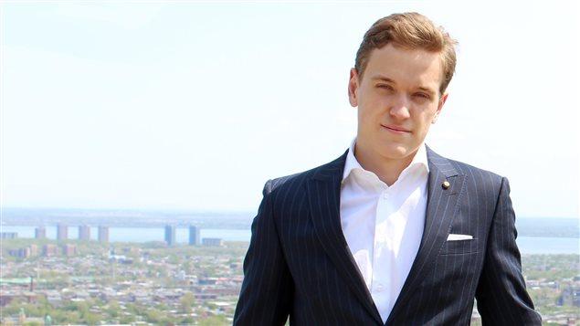 Samuel Poirier, fondateur de Retinad et boursier de la Fondation Thiel