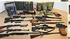 Procès Bain: 12armes et 20000munitions saisies au chalet de l'accusé