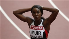 La Canadienne Carline Muir remporte le 400 m à Madrid