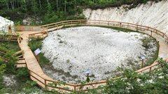Visite de la Vallée des coquillages, sur la Côte-Nord