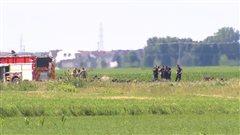 Un mort dans l'écrasement d'un petit avion à Saint-Mathieu-de-Beloeil