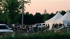 Des Hells Angels du chapitre de Trois-Rivières se réunissent près de Sorel-Tracy