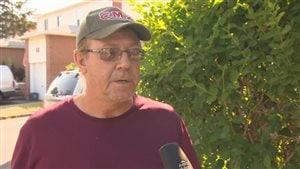 Paul Dawe est un voisin de l'adolescente qui a été tuée par un camion jeudi.