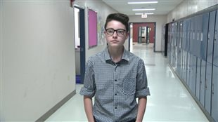 Seth LeBlanc vient de terminer l'école secondaire.