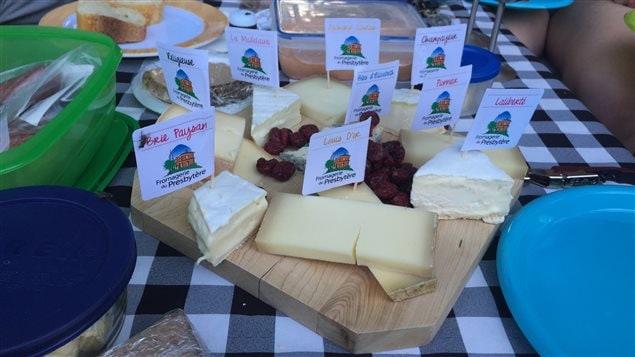 Une sélection de fromages de la Fromagerie du presbytère