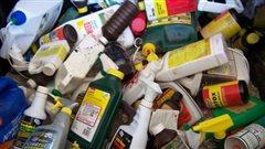 Collecte de déchets ménagers dangereux à Regina