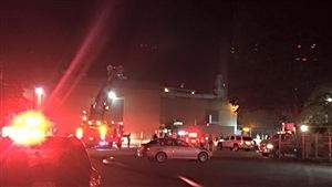 Un incendie majeur a fait rage dans une imprimerie de monnaie, dans la nuit de vendredi à samedi.