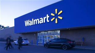Une succursale du géant américain Wal-Mart