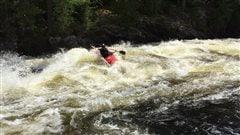 Nouveauté au Festival de la rivière Kipawa : course de kayak extrême