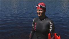 Le double exploit d'une femme de Shawinigan au Triathlon de Mont-Tremblant