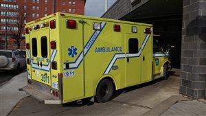 Le décès de la dame a été constaté à l'hôpital Saint-François-d'Assise.