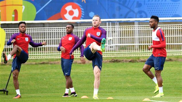 Wayne Rooney à l'entraînement