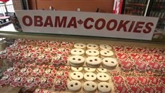 La production des biscuits Obama bat son plein à Ottawa