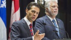 Le Mexique et le Québec concluent 5 accords de coopération