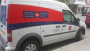Camion Postes Canada