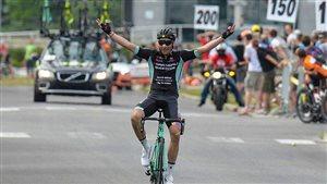 Le nouveau champion canadien de cyclisme sur route