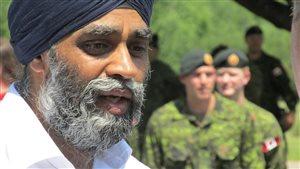 Le ministre de la Défense nationale,  Harjit S.Sajjan