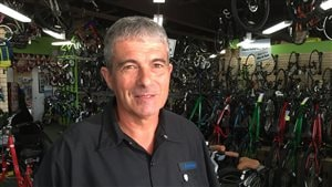 Jim Goguen de Consolvo Bikes à Moncton