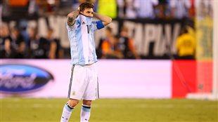 Le joueur de soccer argentin Lionel Messi