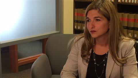 Me Dominique Bertrand a commenté le rapport du Bureau du commissaire aux incendies.