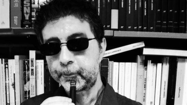 L'écrivain Maurice Dantec
