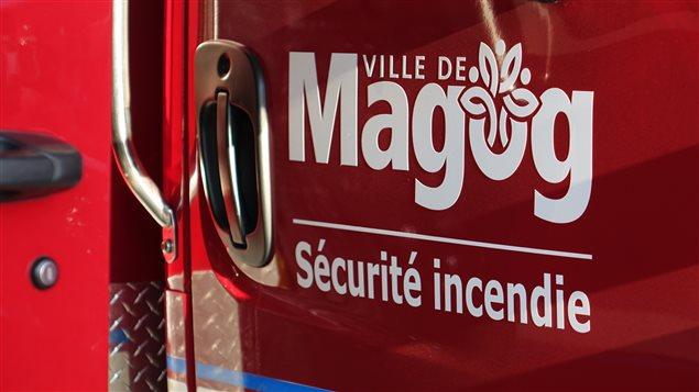 Le Service de sécurité incendie de la Ville de Magog