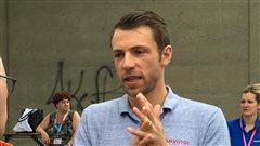 Le Tour de France: «trois semaines extrêmement difficiles», dit David Veilleux