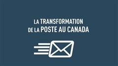 La transformation de la poste au Canada