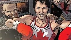 Justin Trudeau, superhéros d'une BD de Marvel aux côtés d'Iron Man