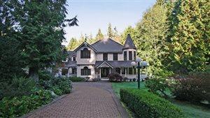 Le propriétaire de cette maison à Surrey n'a pas remboursé un prêt de 10 M$ en Chine, affirme une banque chinoise.