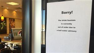 De nombreux commerces de Saskatoon sont touchés par l'avis de faire bouillir l'eau.