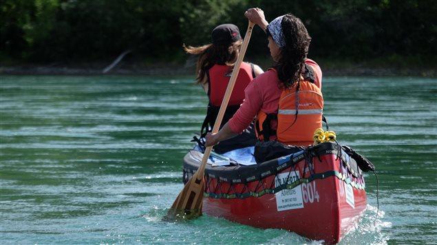 La course en canot Yukon River Quest