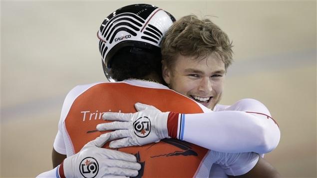 Njisane Phillip et Hugo Barrette aux Jeux panam de Toronto