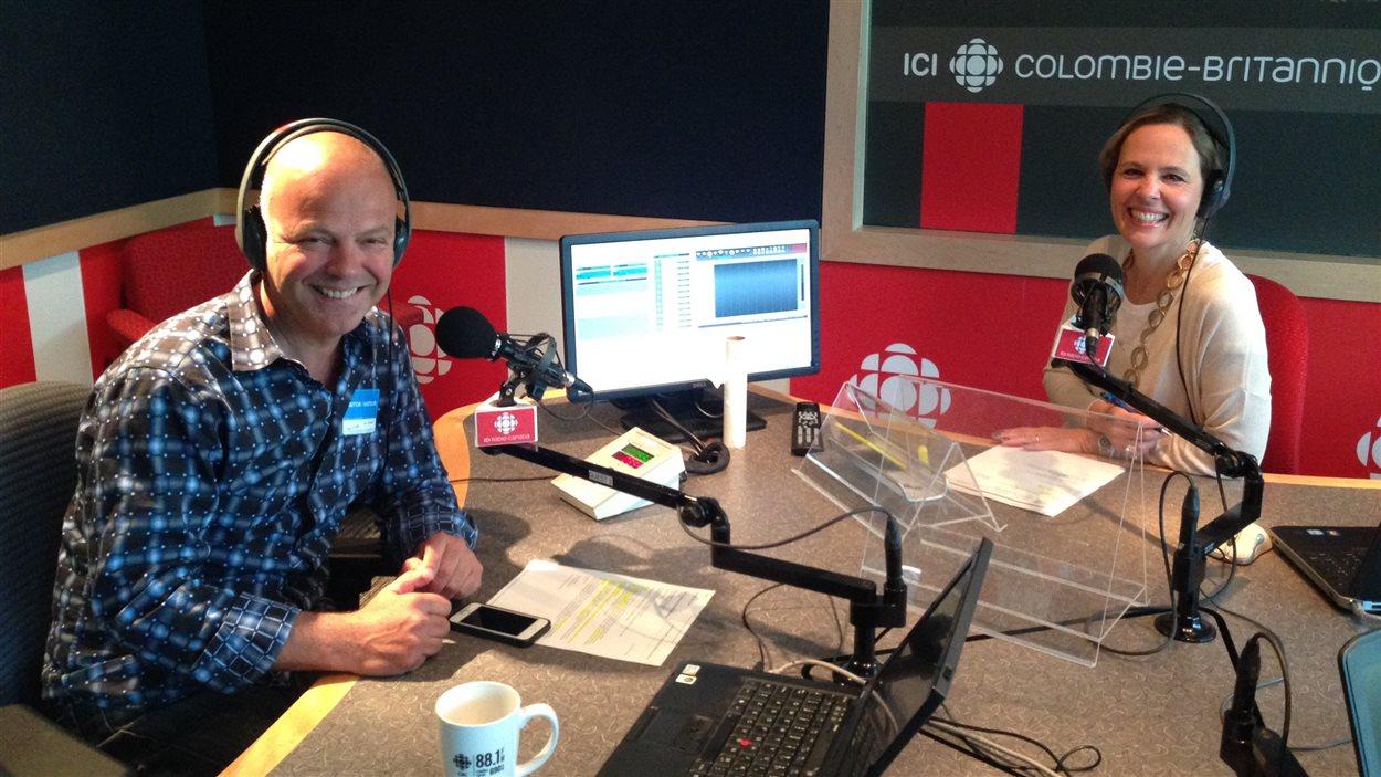 Le Toulousien Philippe Sokazo s'amuse dans notre studio 19 à Vancouver.