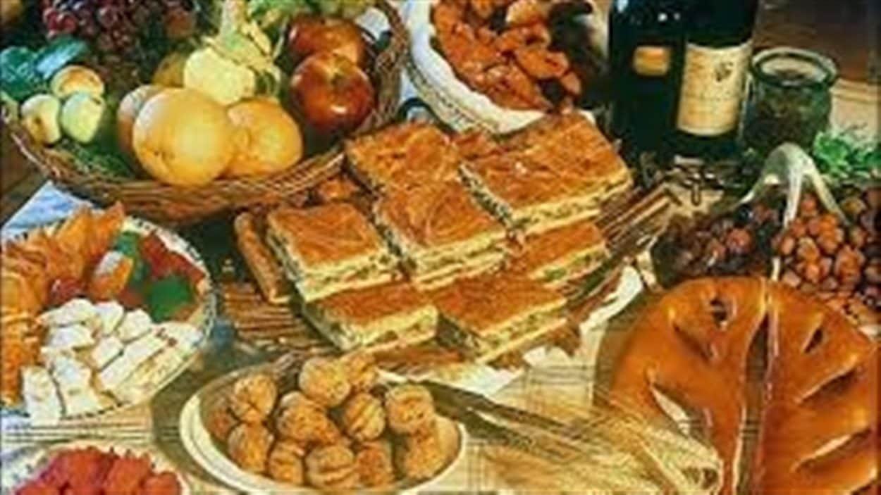 Les 13 desserts, une tradition provençale du temps des Fêtes.