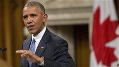 Barack Obama livre un discours d'adieu émouvant aux Communes
