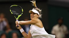 Eugenie Bouchard victorieuse à Wimbledon