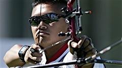 L'archer Crispin Duenas en route pour Rio