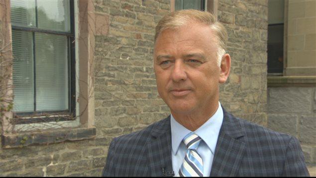 Paul Robichaud, ministre des Pêches du N.-B. de 1999 à 2002.