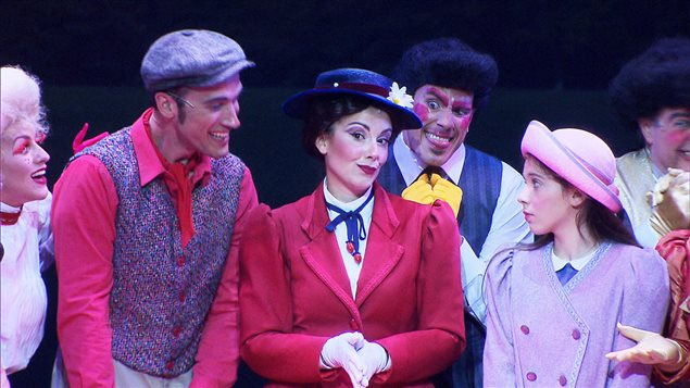 Le spectacle « Mary Poppins »