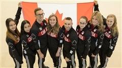 Rosie MacLennan,tête d'affiche de la gymnastique canadienne à Rio