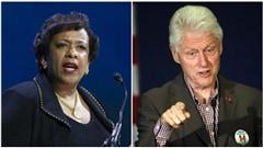 Une rencontre impromptue qui met Clinton et les démocrates dans l'embarras
