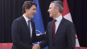 5 enjeux pour Justin Trudeau au sommet de l'OTAN